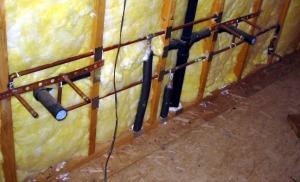 wall piping