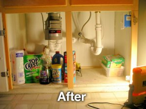 after disposal install