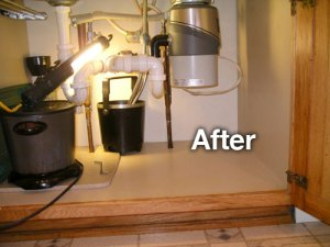 After Job Photo - Kitchen Disposal