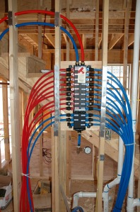 plumbing lines